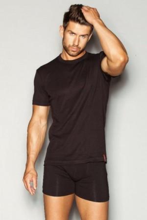 Henderson George 1495 J41 Černé Pánské tričko L Černá (J41)