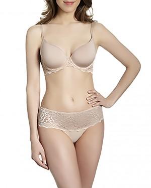 Šortky Caresse 12A630 růžová kůže - Simone Péréle Velikost do filtru: L, Barva Simone Perele: růžová kůže (739)