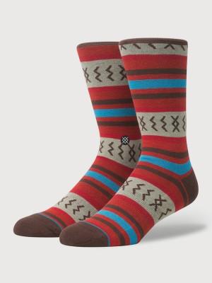 Ponožky Stance Mexicali Rose Red Barevná