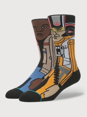 Ponožky Stance The Resistance 2 Orange Barevná