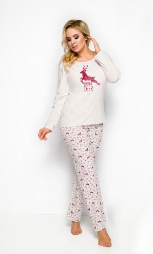 Dámské pyžamo Taro Ala 2241 dl/r 2XL-3XL '19