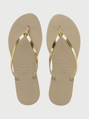 Žabky Havaianas You Metallic Sand Grey/Light Golden Šedá